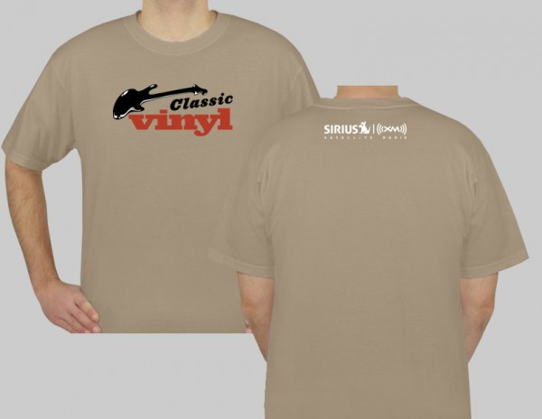 SiriusXM Classic Vinyl Logo T-Shirt