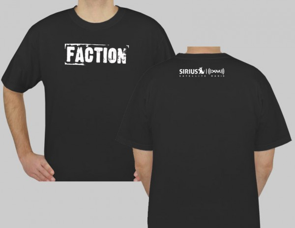 SiriusXM Faction Logo T-Shirt