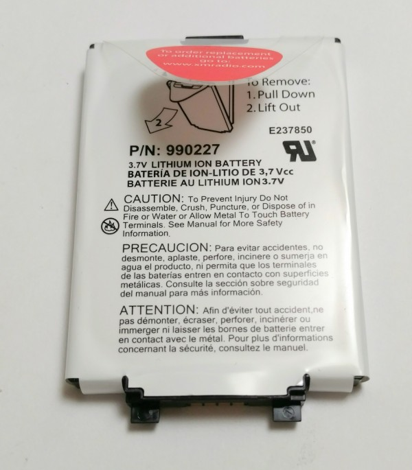 Pioneer Airware XM2go Replacement Battery