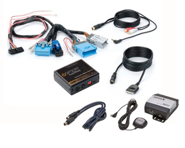iSimple Factory iPod & SIRIUS Integration For GM Vehicles (GM3)