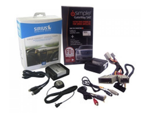 iSimple Factory iPod & SIRIUS Integration For Ford/Lincoln/Mercury Vehicles (FD1)