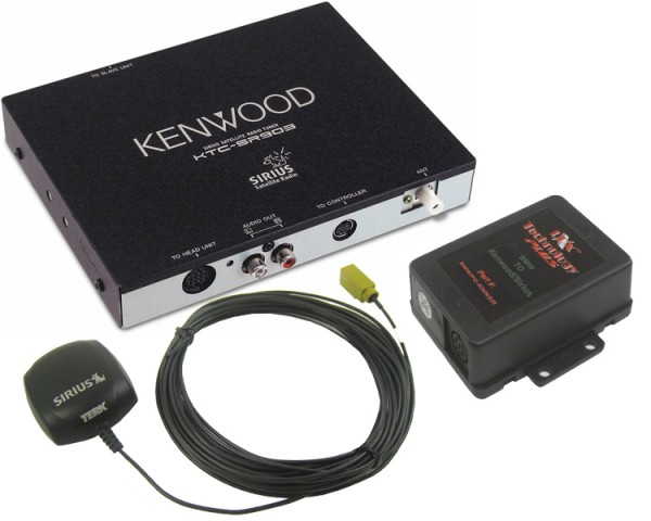 BMW Kenwood Sirius Tuner Package