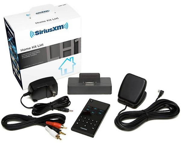 SiriusXM Lynx Bundle Home Kit Package Contents