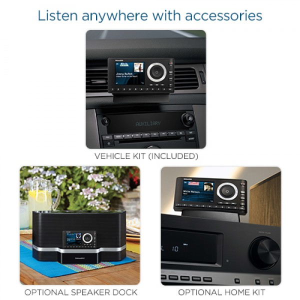 SiriusXM Onyx Plus Accessory Images