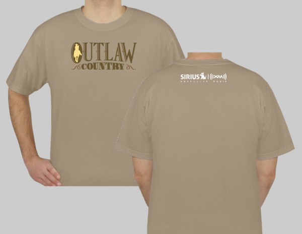 SiriusXM Outlaw Country Logo T-Shirt