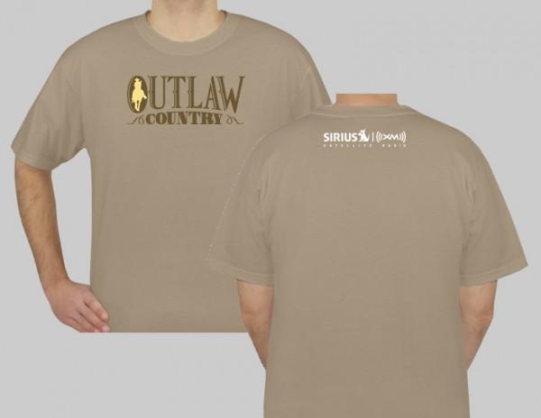 SiriusXM Outlaw Country Logo T-Shirt