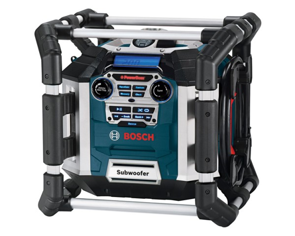 Bosch Deluxe Power Box SIRIUS-Ready Jobsite Radio PB360D