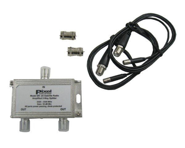 2-Way Amplified Splitter SR-2A Image