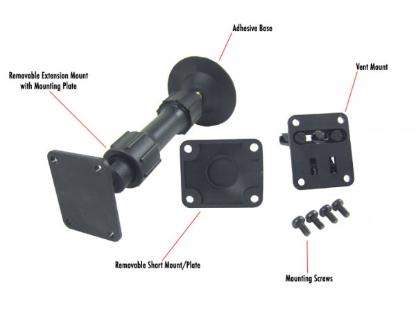 SIRIUS S50 Original Mounts Package Package Contents