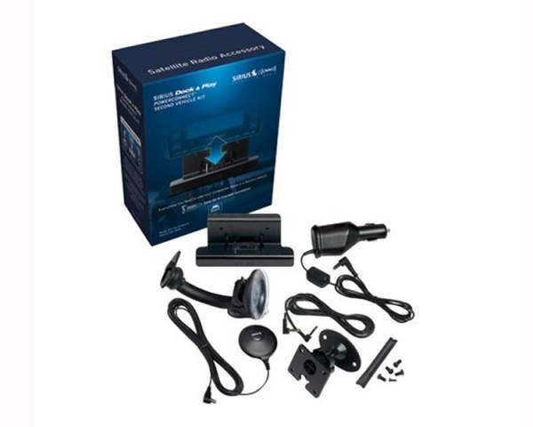 SIRIUS PowerConnect Vehicle Kit SADV2 Package Contents
