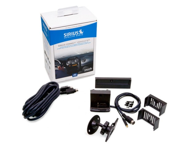 SIRIUS Connect Vehicle Kit for Sirius-Ready Radios SCVDOC1B Contents