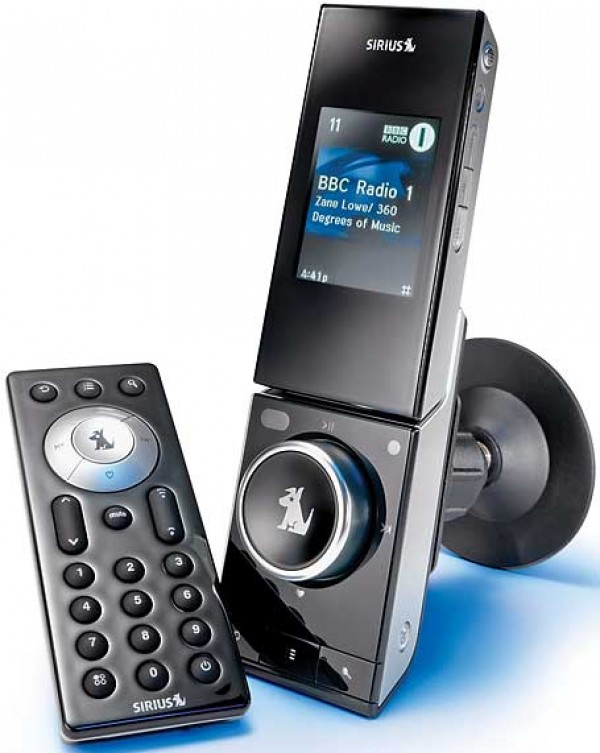 SIRIUS S50 with Car Dock and Remote