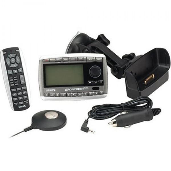 Sirius Sportster Replay Satellite Radio With Car Kit Sp