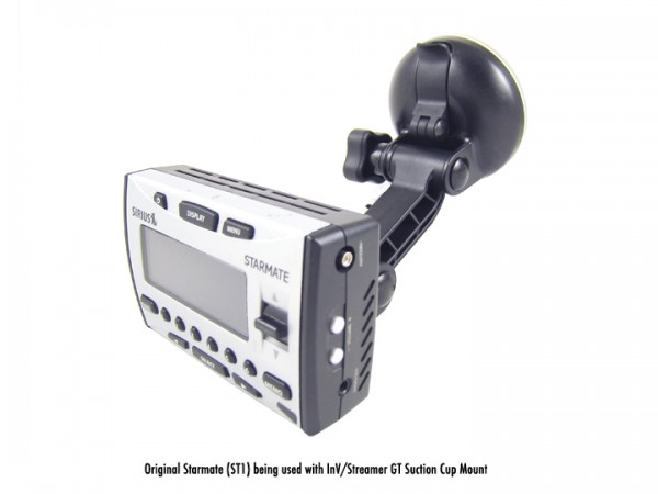 SIRIUS INV/Streamer GT Suction Cup Mount With GT