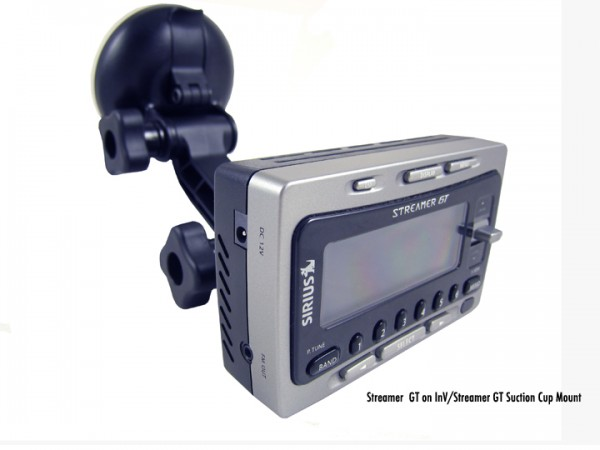 SIRIUS INV/Streamer GT Suction Cup Mount With GT Angle 2