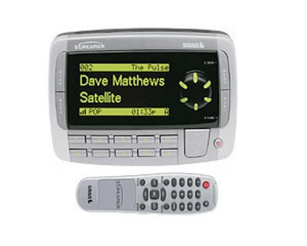 sirius streamer original receiver sir strpnp1 tss radio Sirius Portable Radio and CD Player for Car Radio Shack Sirius Accessories