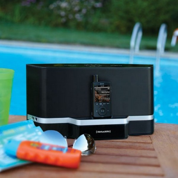 SiriusXM Portable Boombox Sound System SXABB2 Outdoor Image
