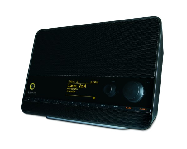 SiriusXM Tabletop Internet Radio TTR1 Right Angle