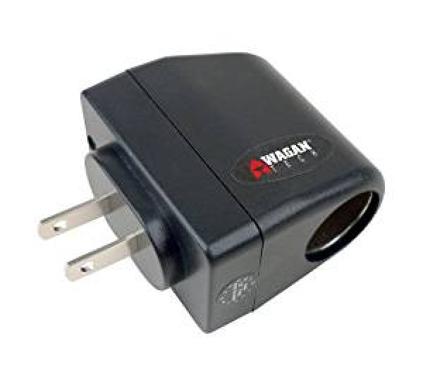 Wagan Traveler's Cigarette Lighter Output AC Home Adapter