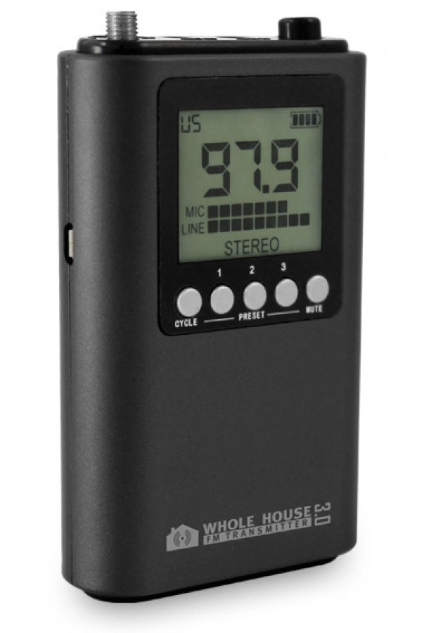 Whole House FM Transmitter 3.0 Side Image