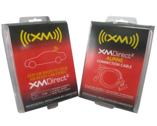 Alpine XM Direct In Dash Kit