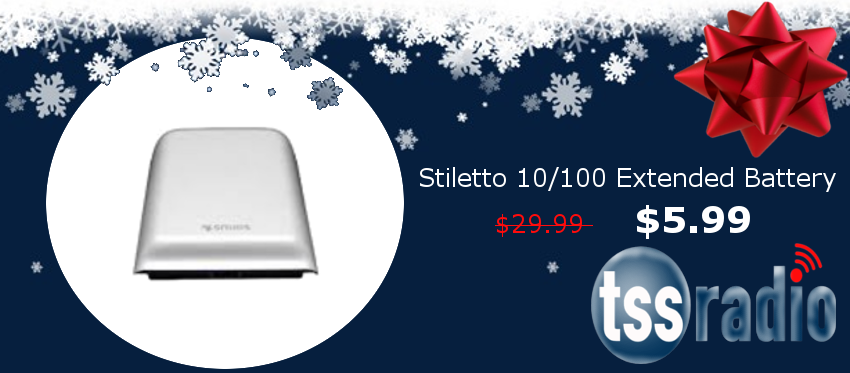 Stiletto 10/100 Standard Battery SLEB1