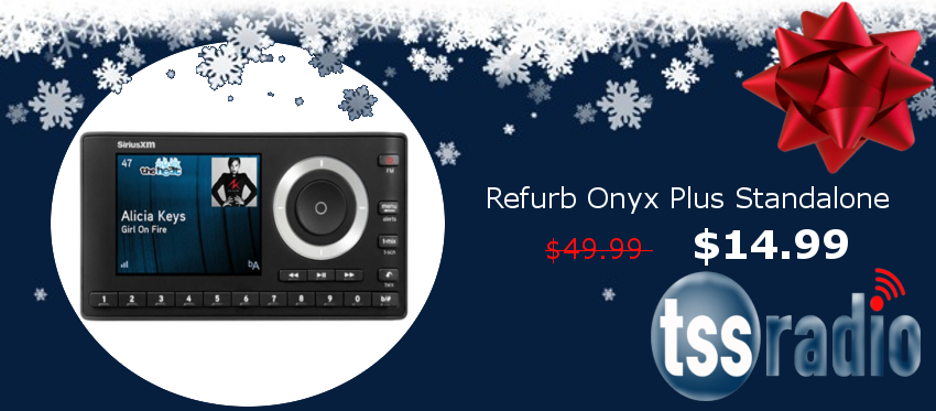 Refurbished SiriusXM Onyx Plus Standalone