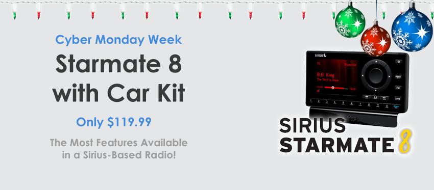 Sirius Starmate 8 - Latest Sirius Radio for a Low Price!