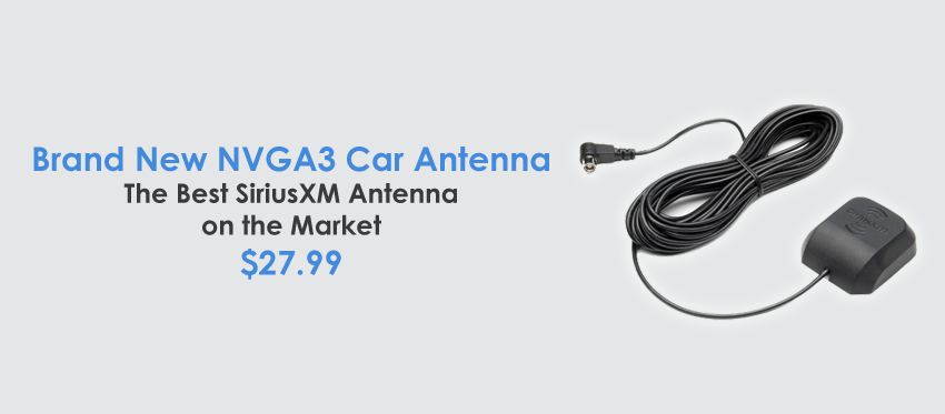 New - NGVA3 Universal Car Antenna