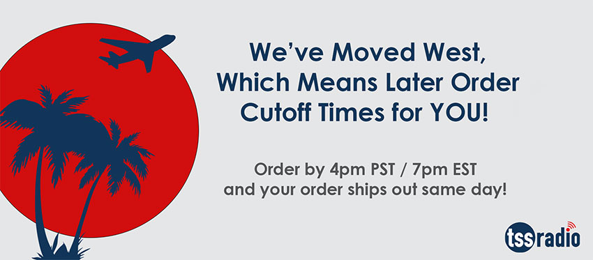 New Shipping Cutoff Times!