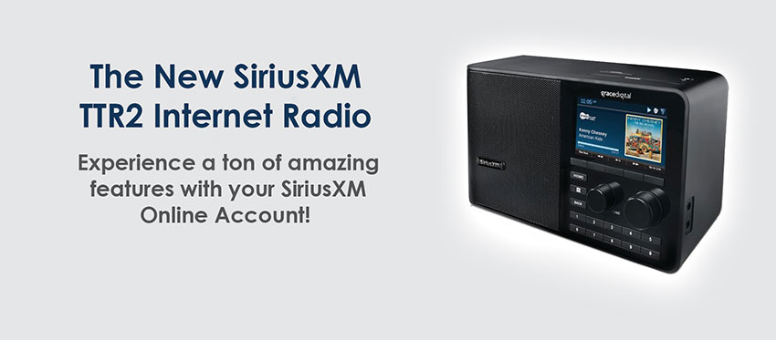 The New SiriusXM TTR2 Internet Radio!